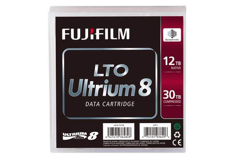 World leaders of LTO and Enterprise Data Tape. Fujifilm announce in the coming weeks, the arrival of LTO 8