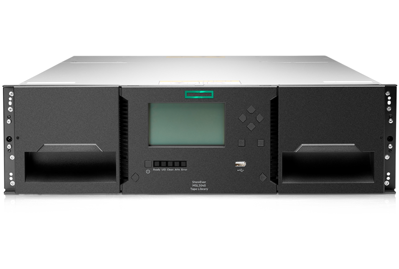 HPE StoreEver MSL3040 Scalable Tape Library